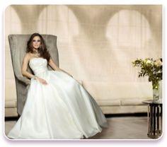 """Wild Orchid"" Wedding dress  http://www.montrealweddingdress.com/Couture-Wedding-Dresses"