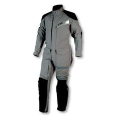 The Aerostich R-3 Light one-piece motorcycle touring suit has everything you need for protected riding, four seasons a year