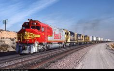 RailPictures.Net Photo: ATSF 90 Atchison, Topeka & Santa Fe (ATSF) EMD FP45 at Summit, California by Bob Hanggie