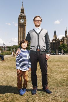Big Ben and Big Smiles! Shop for the whole family with 15% off and free delivery using the code PIN1 (UK) or PIN2 (US) #Boden #AW14