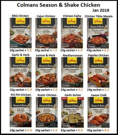 Slimming World Treats, Slimming World Tips, Slimming World Recipes Syn Free, Chicken Tika, Chicken Tikka Masala, Slimming World Shopping List, Sliming World, Cooking Sauces, Barbie