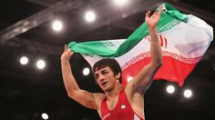 Hamid Sourian, the first Iranian Greco-Roman Wrestler to win Olympic Gold