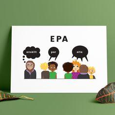 EPA – A4 x 1 Good Student, Sight Words, Teaching Tips, Literacy, Preschool, Teacher, Education, Learning, A4
