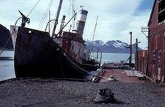 Grytviken, South Georgia Island. Abandonned whale station. #ships #whaling