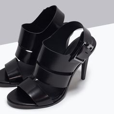 ZARA - WOMAN - TRF HIGH-HEEL SANDALS
