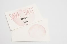 Save The Date Karte Oder Einladung Zur Hochzeit   Jugendstil / Vintage Mit  Blumen   Sehr Romantisch. Alle Texte Und Farben Sind Individualisierbar.