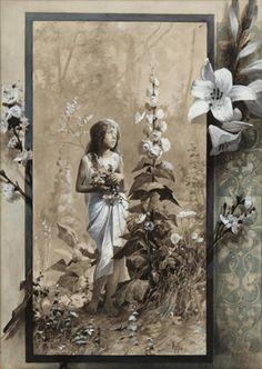 Lilita, by Alphonse Mucha, 1890