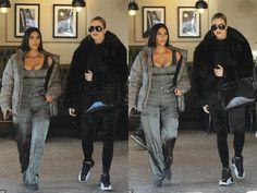 Look Kylie Jenner, Jenners, Kim Kardashian, Fur Coat, Coding, Street Style, Cute, Closet, Jackets