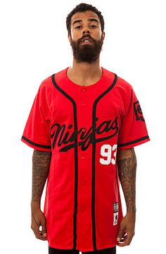 Rocksmith Ninja Script Baseball Jersey - I like this color way better than the one I have...