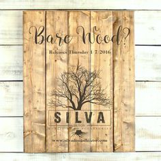 Bare Wood releases Thursday 1/7/2016. Register for my free VIP Wood Creations Club at http://eepurl.com/bLl-x5 to receive an exclusive gift of $10