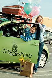 HOT - Car sharing, for less congested, more convenient cities - and lower insurance and petrol bills (City CarShare)