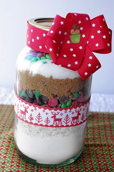 DIY Christmas Cookies in a Jar - 30 DIY Christmas Gift Ideas For Her