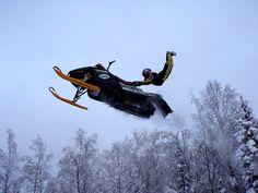 Extreme snowmobile