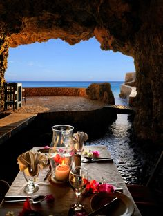 """The Caves Hotel, Jamaica.  """"The Caves"""" sits above Negril's limestone caves overlooking the Caribbean Sea, """"The Caves"""" also own a seven Mile Beach & a saltwater swimming pool."""