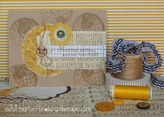 October card class from Marinette Lesne