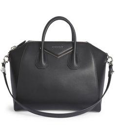 Givenchy Antigona Medium Leather   Metal Satchel Black  289.00 Givenchy  Antigona 4b12692b54225