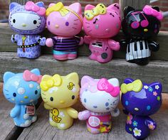 Image about girl in Cute ◕‿◕😇 by ℛℯda on We Heart It Hello Kitty Toys, Here Kitty Kitty, Hello Kitty Merchandise, Kitty Images, Hello Kitty Collection, Anime Figurines, Sanrio Characters, Little Twin Stars, Kawaii Anime