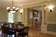 craftsman style interior columns | Craftsman Columns
