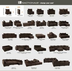 Sactional - modular furniture pieces from Lovesac Love Sac Sectional, Living Room Sectional, New Living Room, My New Room, Living Room Decor, Lovesac Couch, Build Your Own Sectional, Sectional Sofas, Cozy Living