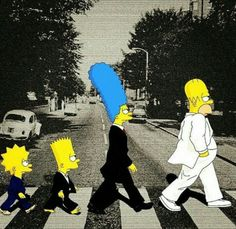 the Simpsons in London Simpsons Drawings, Simpsons Art, Simpson Wallpaper Iphone, Cartoon Wallpaper, Bart Simpson, Zombie Christmas, Futurama, Funny Wallpapers, Movie Posters