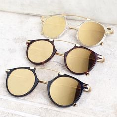 """""""Gold is that paradox: it creates space (by being semi-transparent) and remains flat (by being mirror-like) at the same time."""" Makoto Fujimura by Stylish Sunglasses, Sunglasses Sale, Round Sunglasses, Mirrored Sunglasses, Wholesale Sunglasses, Graffiti, Grunge, Hipster, Eye Glasses"""