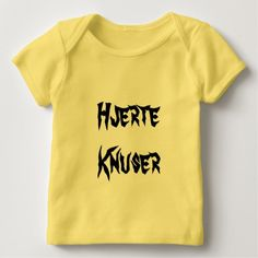 Shop Hjerteknuser, heartbreaker in Norwegian Baby T-Shirt created by ZierNorShirt. Personalize it with photos & text or purchase as is! Norwegian Words, Types Of T Shirts, Foreign Words, Word Sentences, Fathers Day Shirts, Mystery Books, Consumer Products, Cotton Tee, Funny Tshirts