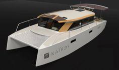 Kaïros¨, a motor catamaran