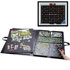 Puzzle Store™ Puzzle Storage System. I actually love this
