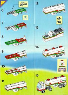 Town - Octan Gas Tanker [Lego 6594]