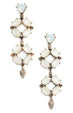 Free shipping and returns on Jenny Packham Wanderlust Drop Earrings at Nordstrom.com. Shimmering and softly iridescent, these sparkling drops have faceted jewels and bright crystals.