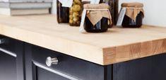 IKEA Küchen Arbeitsplatten, wie KARLBY Arbeitsplatte, Buche