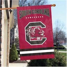 South Carolina Gamecocks Appliqué Banner Flag $49.99