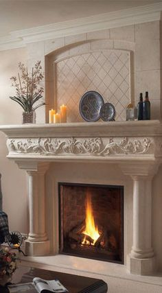125 Best High End Architectural Stone Fireplace Images In