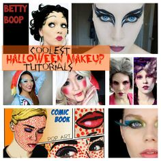 15 Awesome Halloween Makeup Tutorials - includes several special effects type makeup along with a bruising tutorial