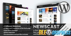 Newscast 4 in 1 v2.1  WordPress Magazine and Blog Free at DLEWordPRess