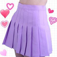 """Lilac Tennis Skirt//$27 "" Photo taken by @shopstrawberrymilk on Instagram, pinned via the InstaPin iOS App! http://www.instapinapp.com (02/10/2015)"
