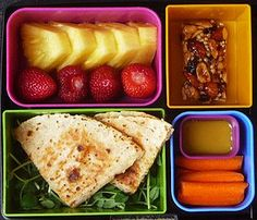 Cool Kids Quesadilla by Laptop Lunches