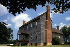 Patty Person Taylor House, built in the late 18th century in Franklin County, NC.