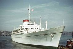 'Augustus' - Italia - 1951: Great Ocean Liners, Liners Ships, Cruise