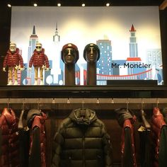 "MONCLER, Yorkdale Shopping Centre, Toronto, Canada, ""Discover the Fall/ Winter Collection with Mr. Moncler"", pinned by Ton van der Veer"