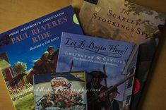 Revelutionary War historical fiction for kids.
