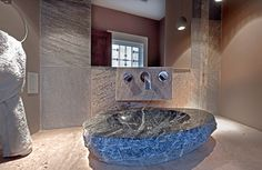 Powder Room designed by MacPherson Construction and Design of Sammamish, WA.