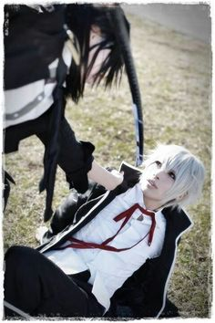 Kuroh and Shiro cosplay. K Project ♥ Taken from Cosplay Paradise
