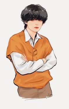 Taehyung Fanart, Bts Taehyung, V Chibi, Kpop Drawings, Cute Cartoon Wallpapers, Bts Fans, Kpop Fanart, Foto Bts, Bts Pictures