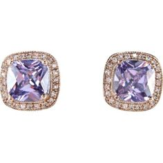 $198.00-$198.00 Bling by Wilkening 14 Kt. Rose Gold Plated Lavender Studs (Lavender) - Exquisitely unique and meticulously crafted, these square post earrings are comprised of the highest-grade cubic zirconia and plated of 14 kt. rose gold. Earrings are an a 12 square and match our 14 kt. Rose Gold Plated Lavender Necklace http://www.amazon.com/dp/B006CS5R48/?tag=pin0ce-20