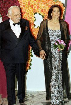 Stéphanie with her father