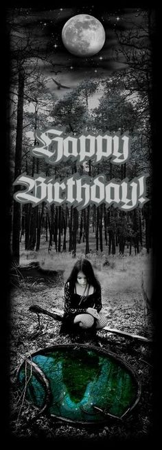 Gothic Happy Birthday Photo: This Photo was uploaded by jinky0u812. Find other Gothic Happy Birthday pictures and photos or upload your own with Photobu...