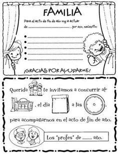 En un rincón de mi aula de Infantil: Notas para padres