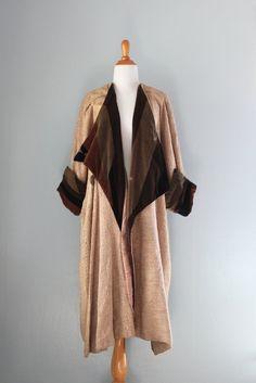 1920s Coat / Vintage 20s Cocoon Coat / Bauhaus Coat par HolliePoint