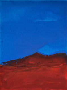 ČERVENÝ HORIZONT akryl na plátne 30x40 15.10.2017 (RED HORIZON acrylic on canvas 30x40 15.10.2017) by simetyst Nature, Painting, Travel, Naturaleza, Viajes, Painting Art, Paintings, Destinations, Traveling